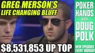 Poker Hands - Greg Merson's Bold Play at the WSOP