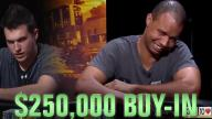 Poker Hands - Phil Ivey Agonizes Over The River