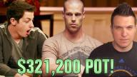 Poker Hands - Tom Dwan Stunned by Antonius!