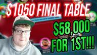 Tonkaaaap - $1050 Sunday Grand Final Table!