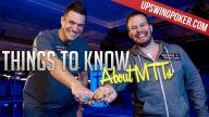 UpSwing Poker - Things To Know About MTT's
