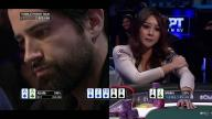 WPT Bay 101 Shooting Star Final Table - Tough Spot For Maria Ho