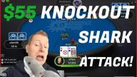 xflixx - Can We Beat $55 KO Poker Sharks?