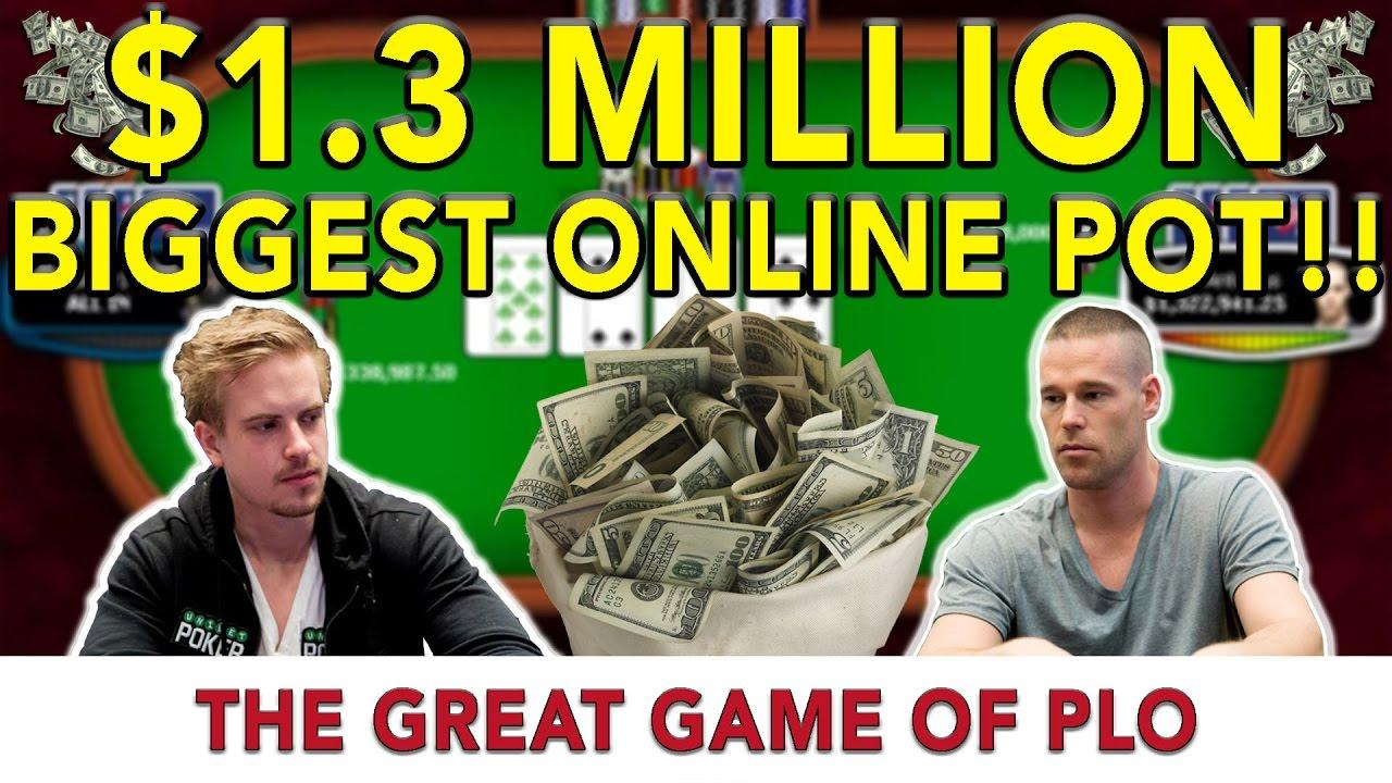 $1.3 Million PLO Pot between Patrik Antonious and Isildur1!