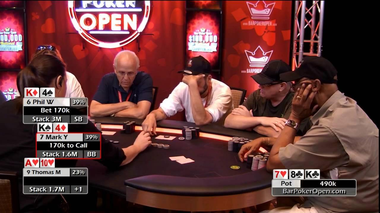2016 Bar Poker Open - Final Table Live Stream