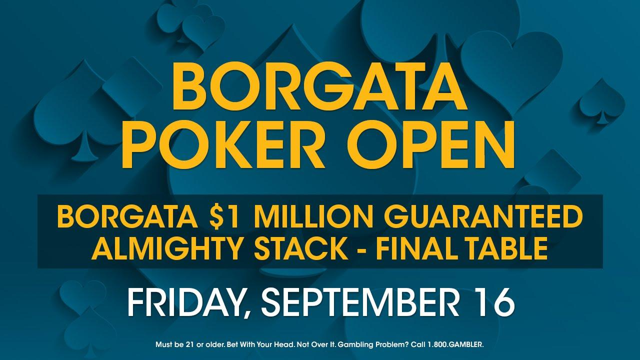 2016 Borgata Poker Open - $1m GTD Almighty Stack Final Table