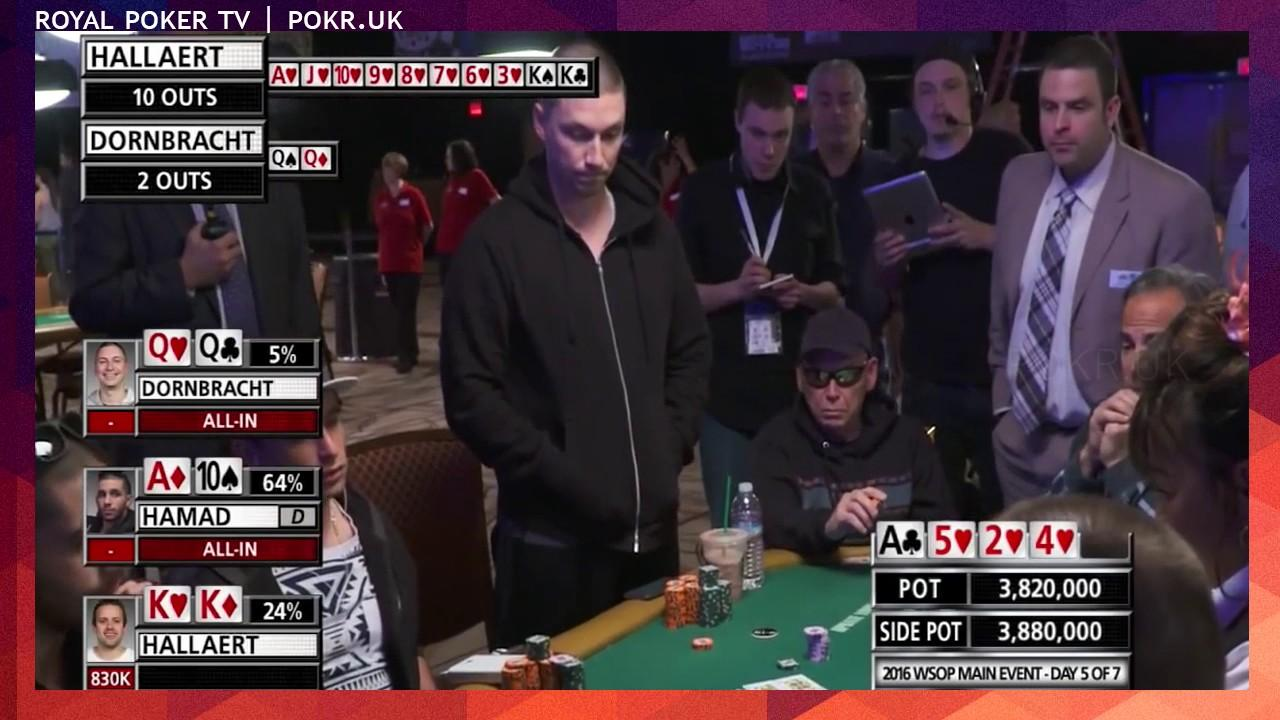 2016 WSOP - Crazy Double Knockout