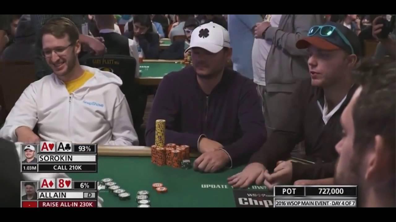2016 WSOP - Folding Pocket Kings Pre Flop?