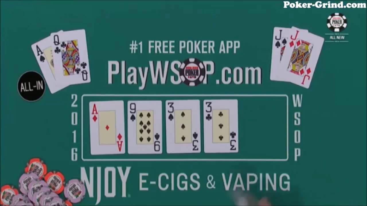 2016 WSOP - Pons and Suchanek are Flipping