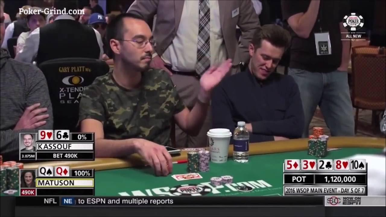 2016 WSOP - Will Kassouf's Penalty Hand