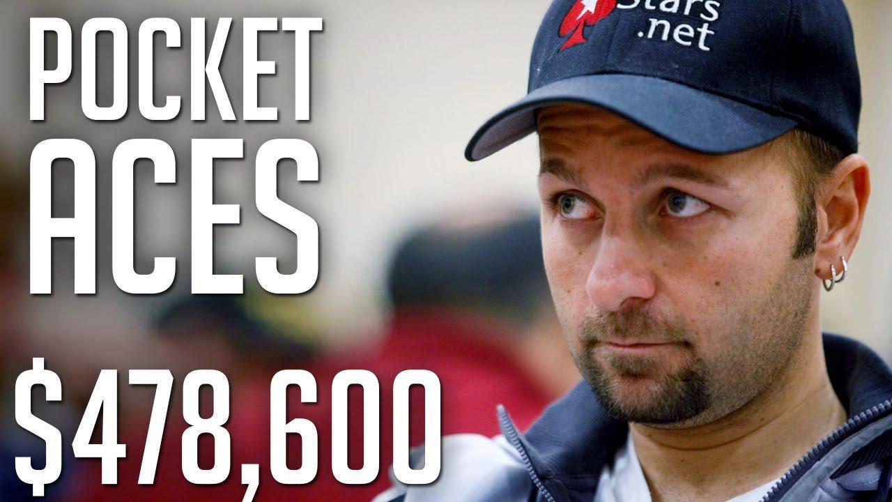 $478,600 Pot Makes Daniel Negreanu SWEAT!