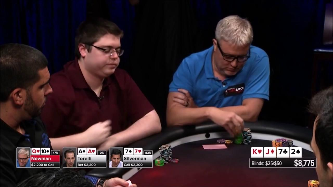 Action flop at Poker Night in America!