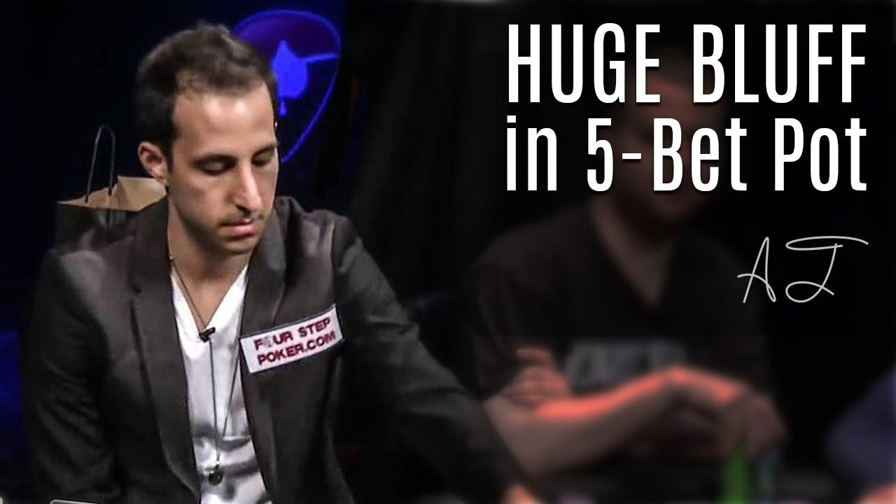 Alec Torelli - Big Bluff in 5-Bet Pot