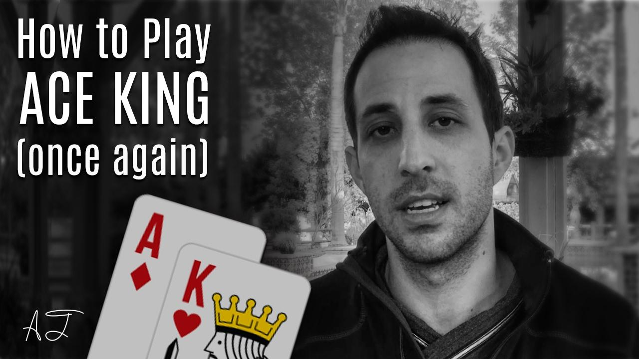 Alec Torelli - Playing AK in a Cash Game