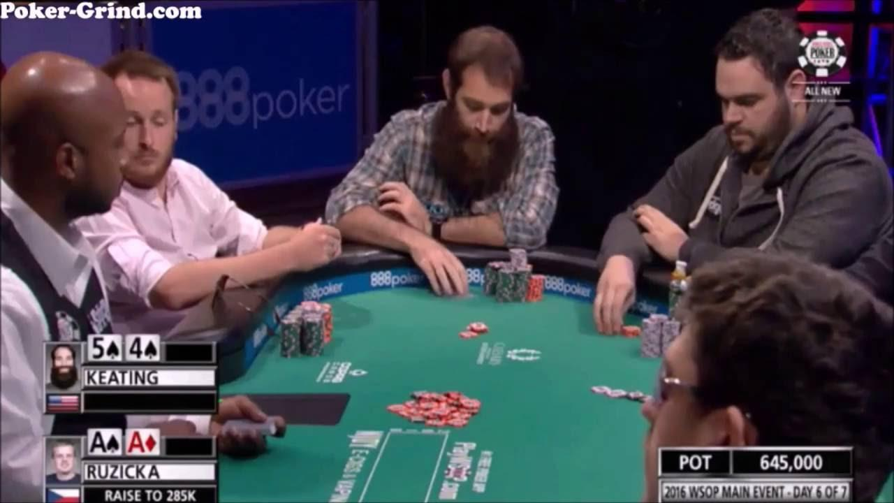 Alex Keating Angleshoots at 2016 WSOP Main Event