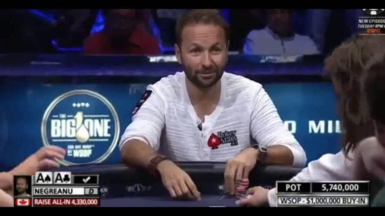 Big One For One Drop - Negreanu's Card Gets Exposed