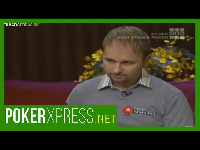 Daniel Negreanu is Human Afterall!
