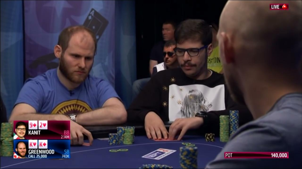 EPT Super High Roller - Slowplaying Pocket Kings