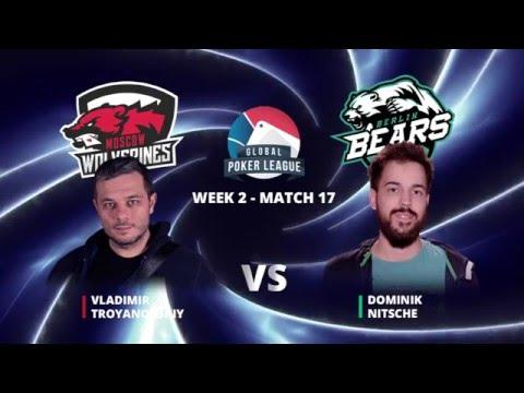 Global Poker League - Eurasia Week 2 -  Match 17