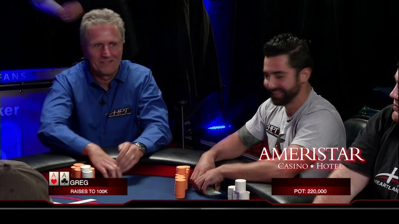 Heartland Poker Tour - Ameristar MO Final Table - Part 1