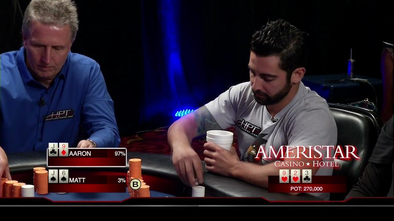 Heartland Poker Tour - Ameristar MO Final Table - Part 2