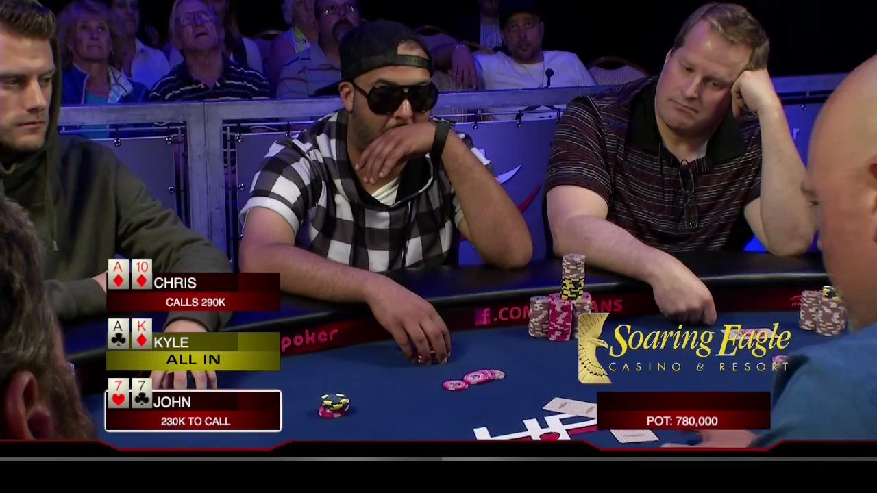 Heartland Poker Tour - Soaring Eagle Final Table - Part 1