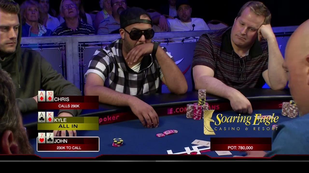 Heartland Poker Tour - Soaring Eagle Final Table - Part 1