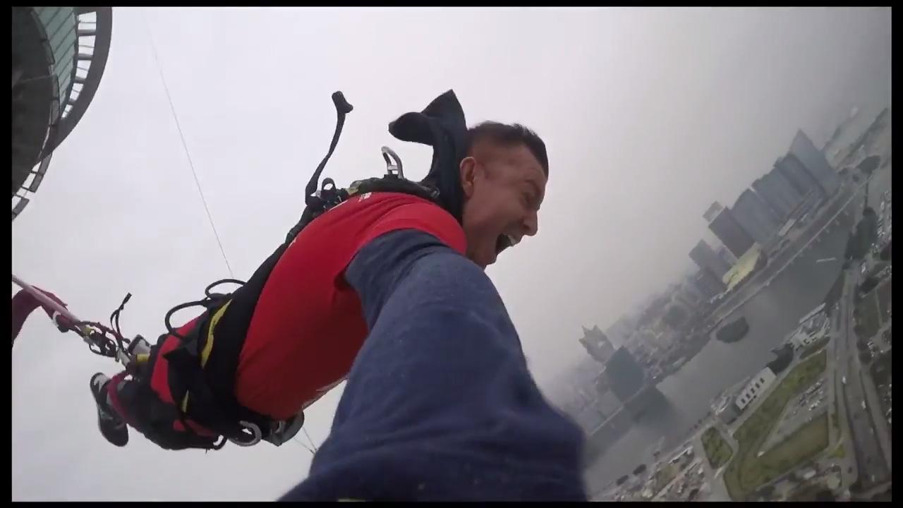 Jake Cody - Worlds Highest Bungee Jump