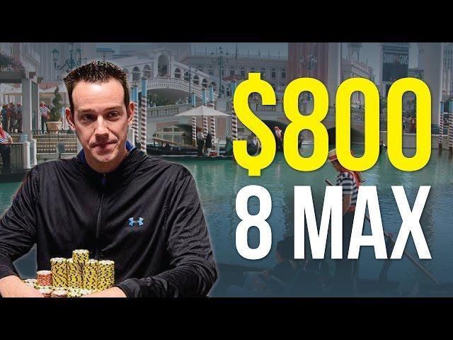 Jeff Boski - Vlog #18 : Venetian $800 8 Max
