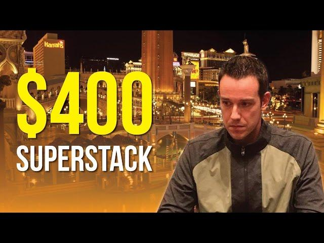 Jeff Boski - Vlog #19 : The Venetian $400 Superstack