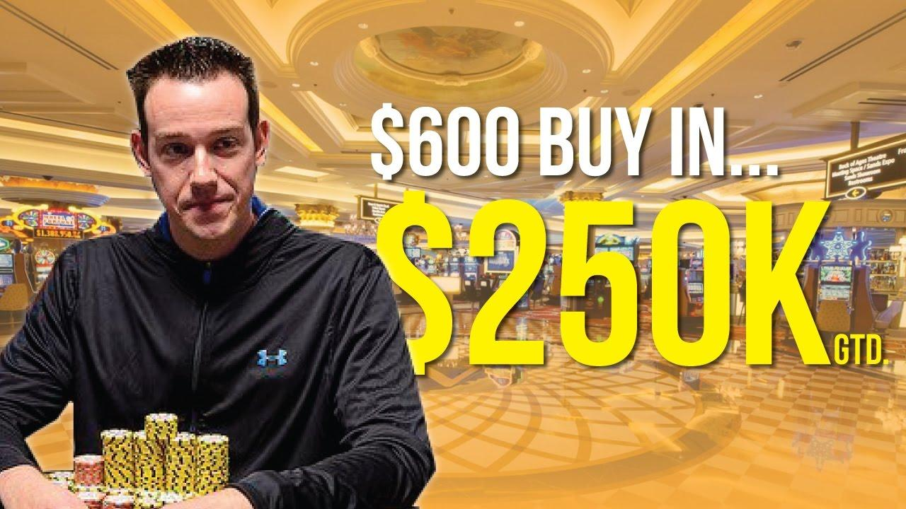 Jeff Boski - Vlog #21 : Venetian $250,000 Tournament