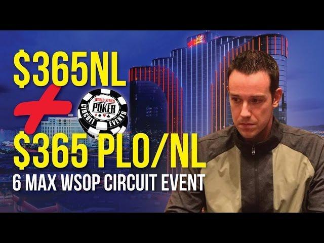 Jeff Boski - WSOP Circuit $365s!