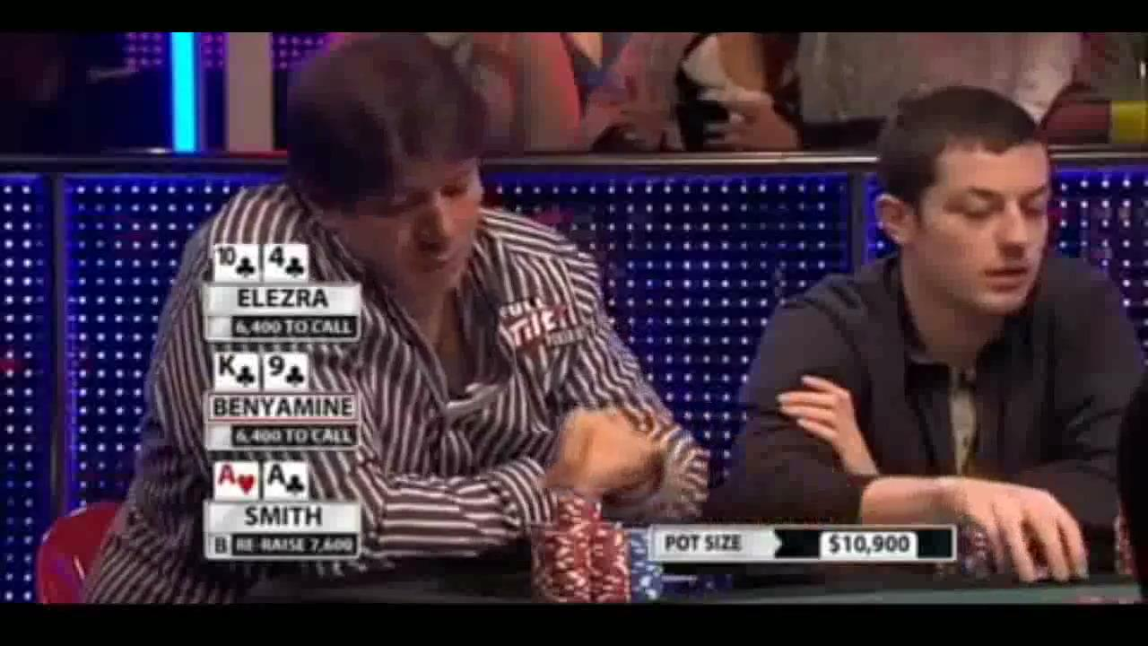 Million Dollar Cash Game - Elezra Against Aces