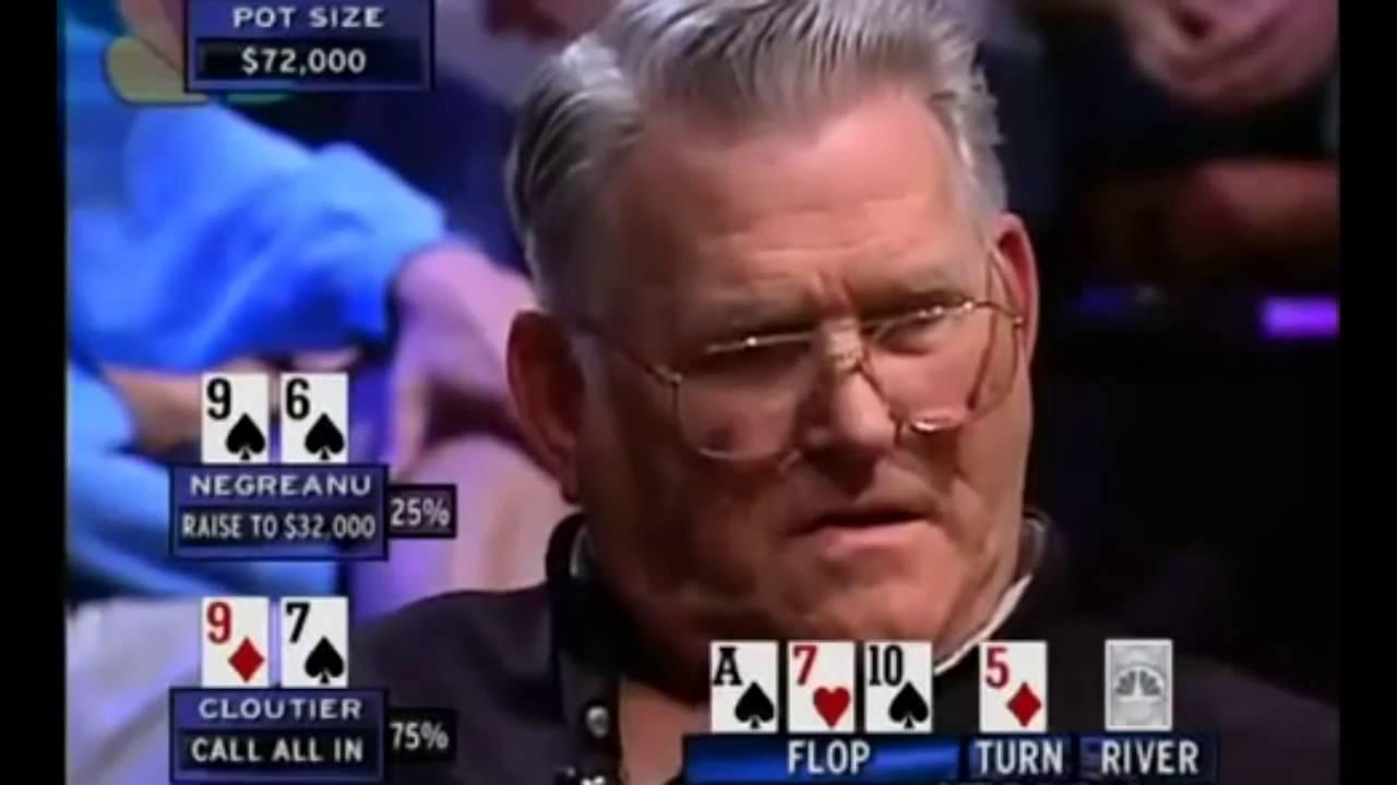 National Heads-Up Championship - Negreanu Vs Cloutier