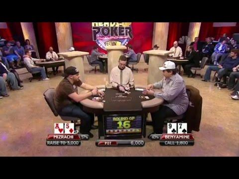 National Heads-Up Poker Championship - Mizrachi Vs Benyamine