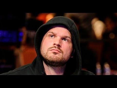November Niner Griffin Benger at the 2014 WSOP