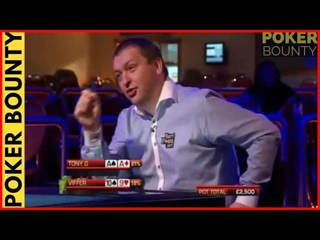 Party Poker Big Game - Tony G Has Pocket Aces