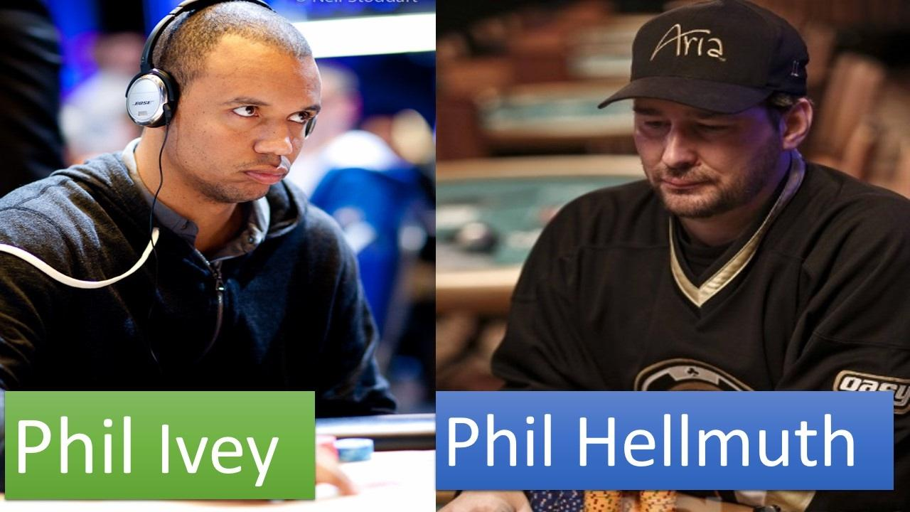 Phil Hellmuth Can't Beat Phil Ivey!