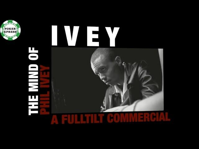 Phil Ivey - A Commercial and Its Parody