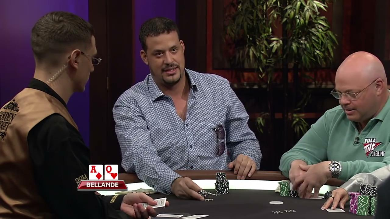 Poker After Dark - Bellande's Rollercoaster Hand