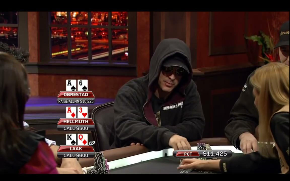 Poker After Dark - Laak Makes A Dubious Play