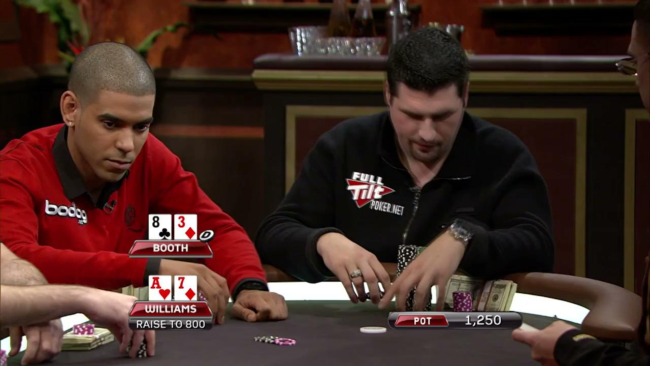 Poker After Dark - Williams Loses the Minimum