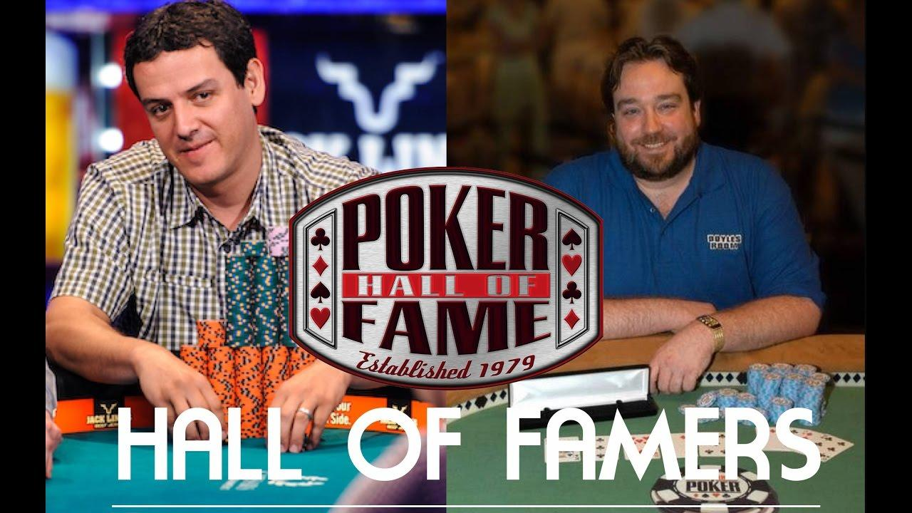 Poker Hall of Fame 2016 - Carlos Mortensen & Todd Brunson