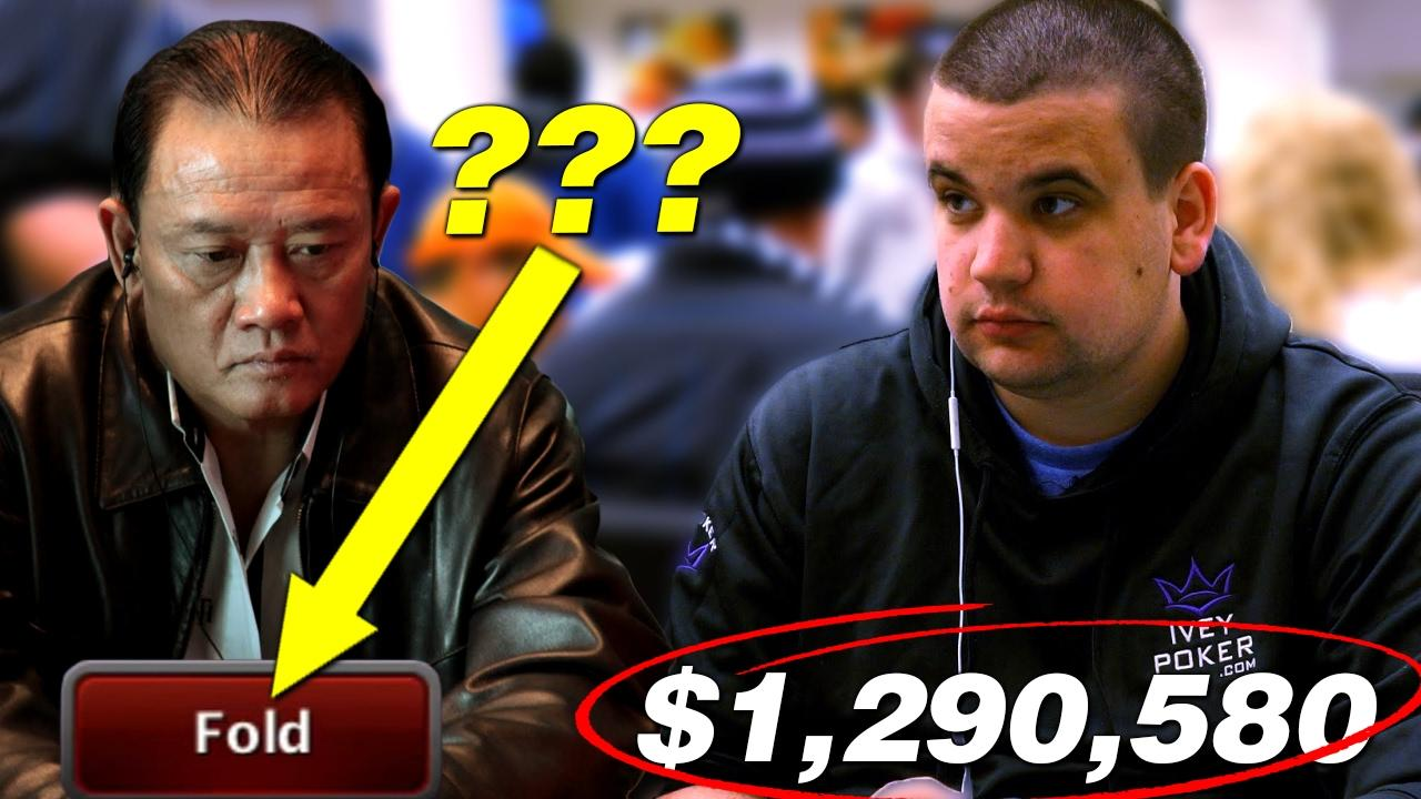 Poker Hands - $1.3million TRAINWRECK!
