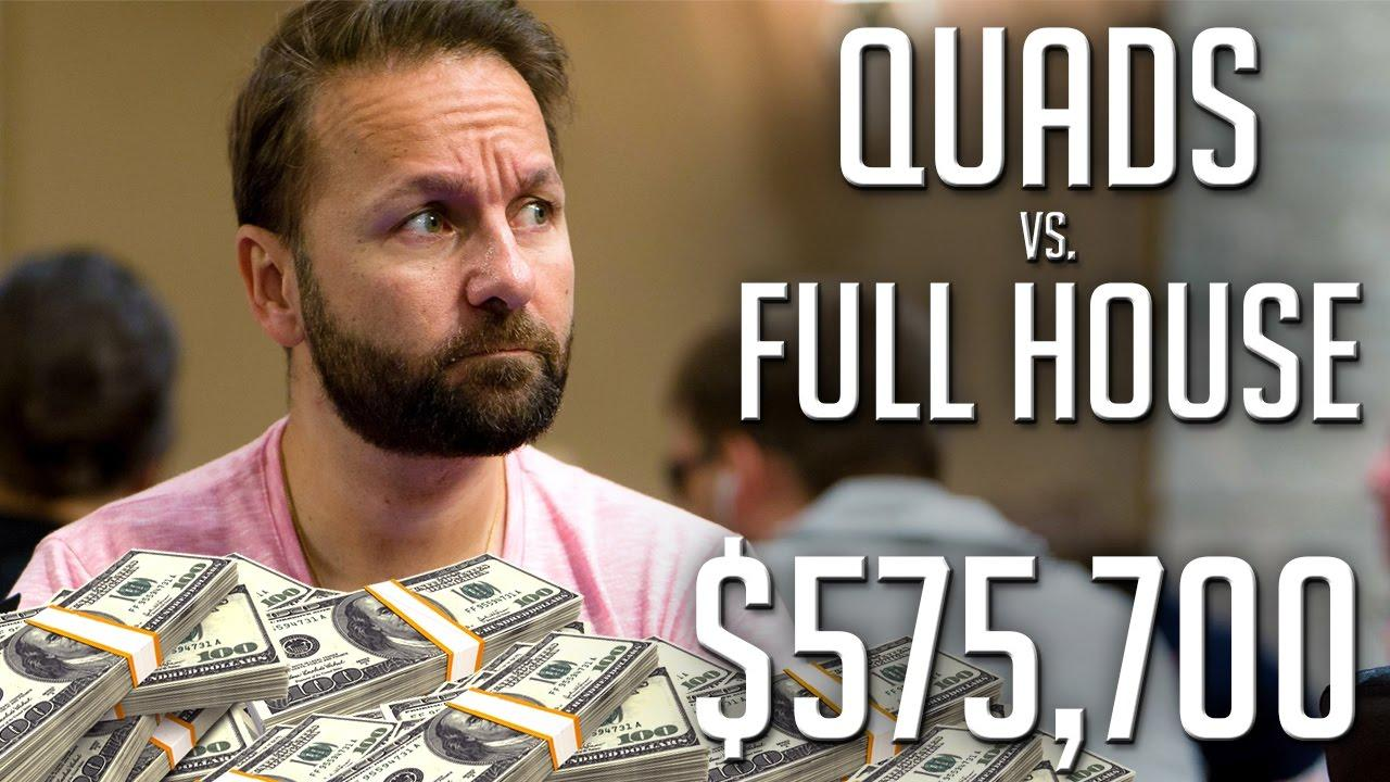 Poker Hands - Hansen Has Quads!