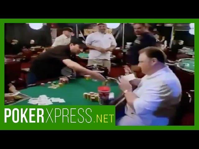 Poker Players Left Hanging!