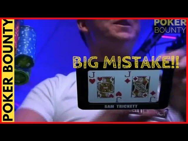 Sam Trickett Slow Plays Pocket Jacks