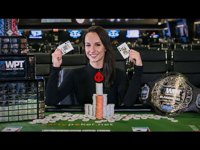 The First Ever Female Winner of a WPT!