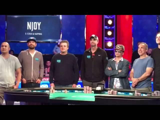 The WSOP 2016 November Nine!