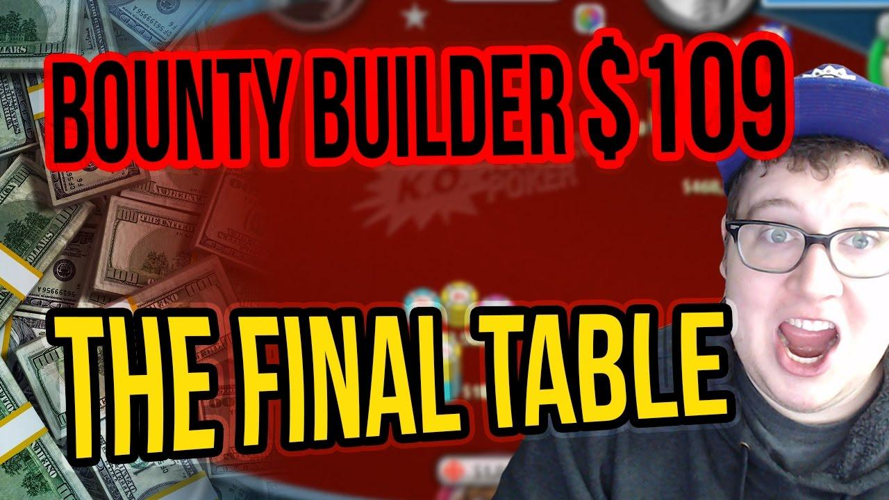 Tonkaaaap - $109 Bounty Builder Final Table - Part 2